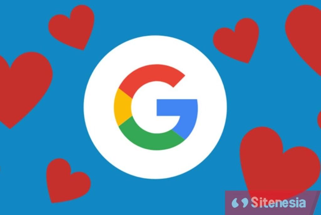 Ilustrasi Gambar Inilah Alasan Kenapa Kami Mencintai Google dan Mengatakan I Love You Google atau Aku Cinta Kamu Google