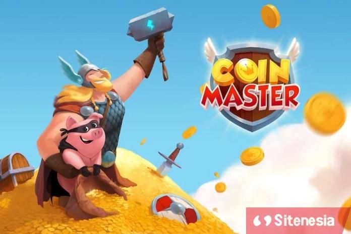 Gambar Cover Download Coin Master MOD APK Terbaru Gratis