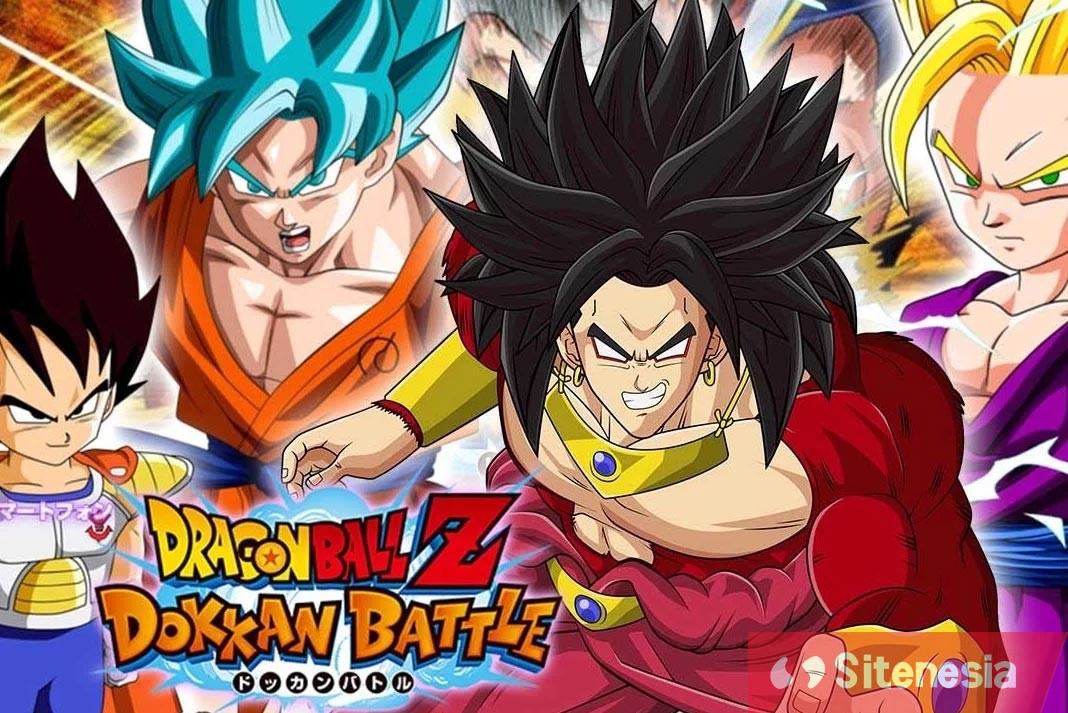 Gambar Cover Dowload Dragon Ball Z Dokkan Battle MOD APK Versi Terbaru God Mode Dan High Damage Gratis Untuk Android