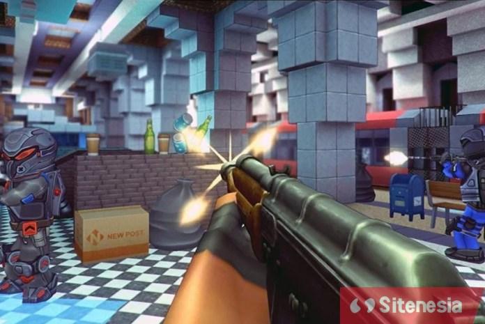 Gambar Gameplay Download KUBOOM MOD APK Versi Terbaru God Mode