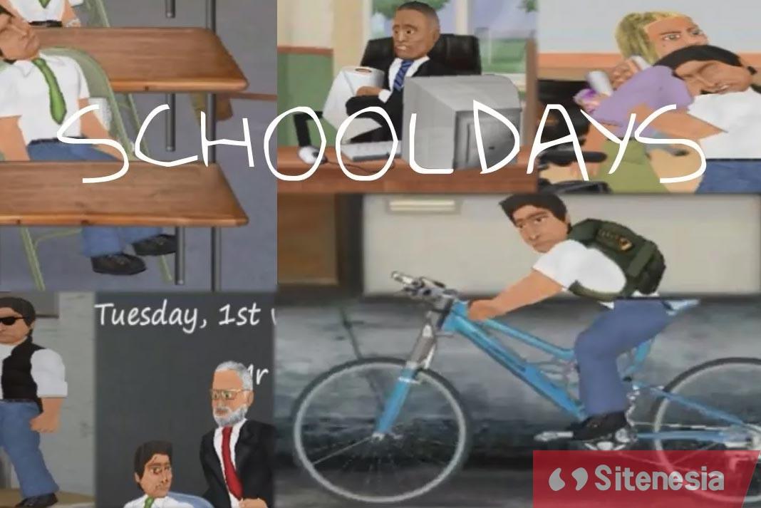 Gambar Cover Game Download School Days MOD APK Versi Terbaru Unlock Editor Dan No Ads Gratis Untuk Android