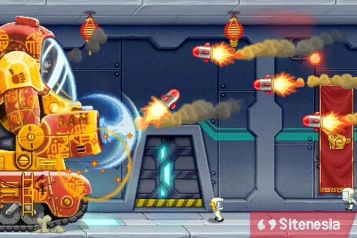 Gambar Gameplay Download Game Jetpack Joyride MOD APK Terbaru Versi Baru