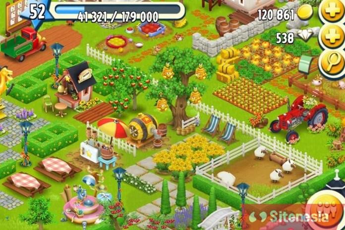 Gambar Gameplay Download Hay Day MOD APK Versi Terbaru Unlimited Coins Gems Dan Seeds