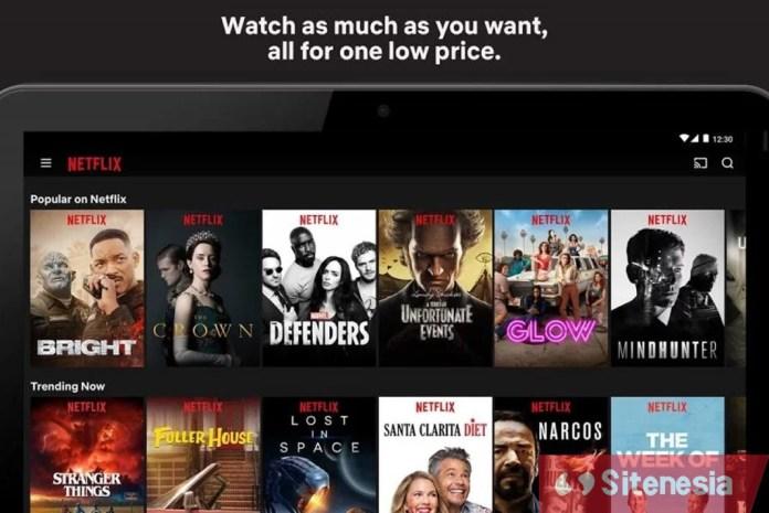 Gambar Screenshot Netflix APK MOD Premium Download Terbaru