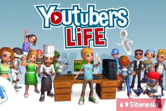 Gambar Cover Game Download Youtubers Life MOD APK Versi Terbaru