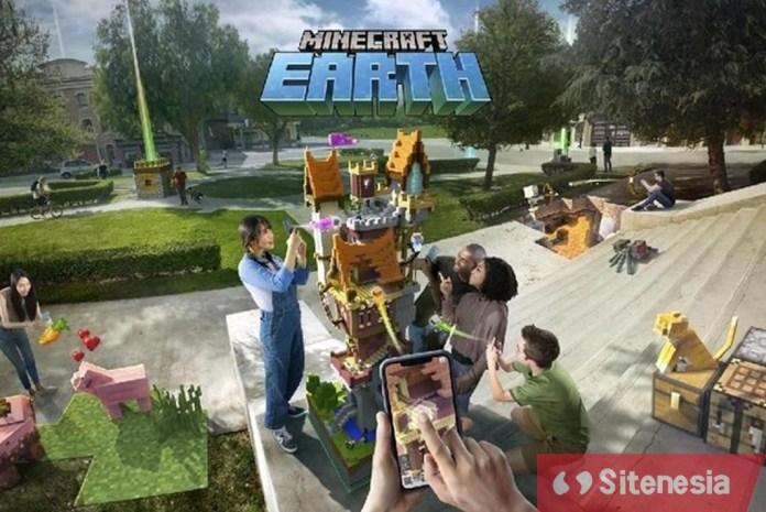 Gambar Cover Dari Game Download Minecraft Earth Versi Terbaru Gratis Untuk Android