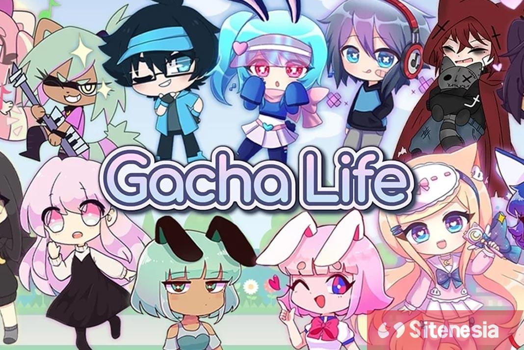Gambar Cover Game Download Gacha Life MOD APK Versi Terbaru Unlimited Money Uang Tak Terbatas Gratis Untuk Android