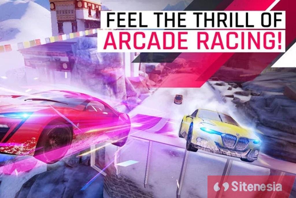 Gambar Gameplay Download Asphalt 9 Legends MOD APK Versi Terbaru Infinite Nitro Speed Hack Dan No AI Opponents Gratis Untuk Android