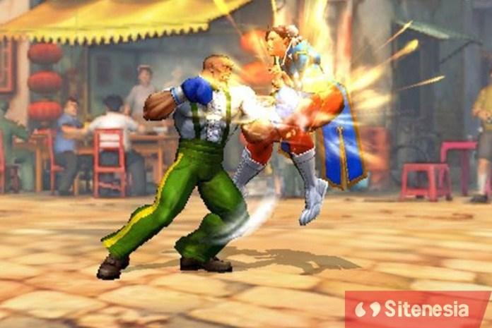Gambar Gameplay Game Download Street Fighter IV Champion Edition MOD APK Terbaru Full Dan All Unlocked