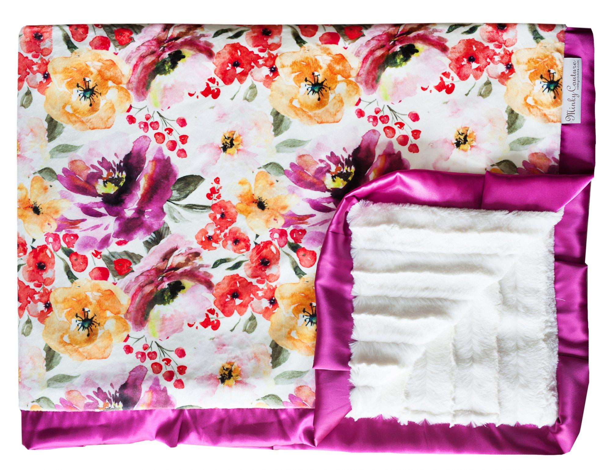 Floral Fest Gold - Creme Brulee - Violet