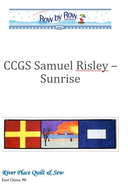 CCGS Samuel Risley - Sunrise