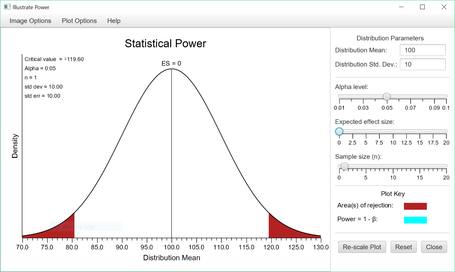 Illustrate Statistical Power