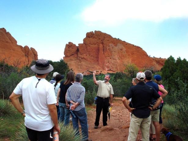 Geology 101 In Garden Of The Gods Around The Block