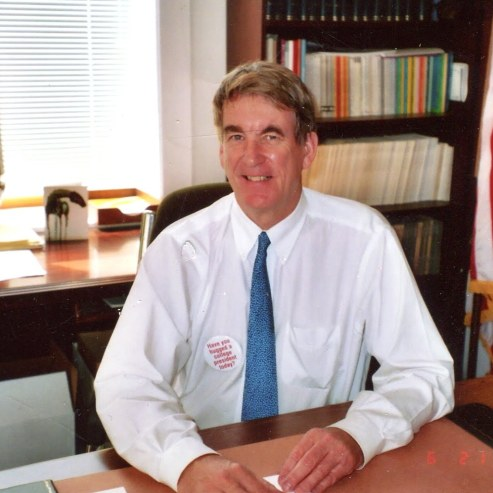 Cronin during his time at Whitman College, where he was President for 12 years.
