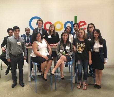 Participants at the Google San Francisco campus