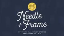Needle + Frame logo