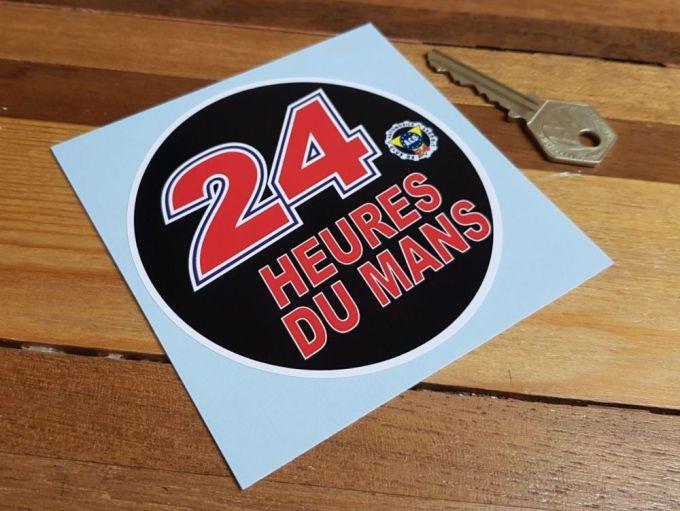 Aco 24 Heures Du Mans Lemans Le Mans Circular Sticker 4