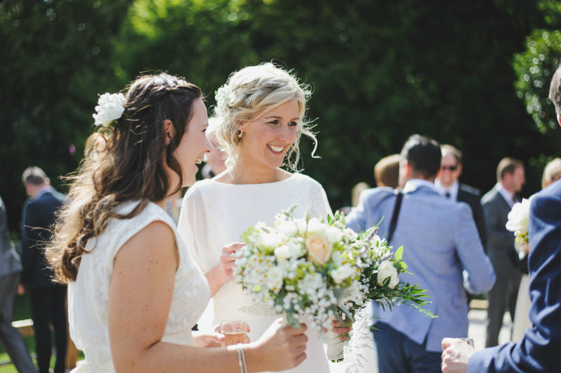 Wedding Hairstylist For Country Wedding Venue In Bibury