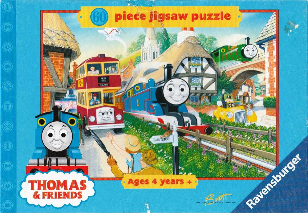 Thomas The Tank Engine Jigsaw Puzzle 60 Pieces