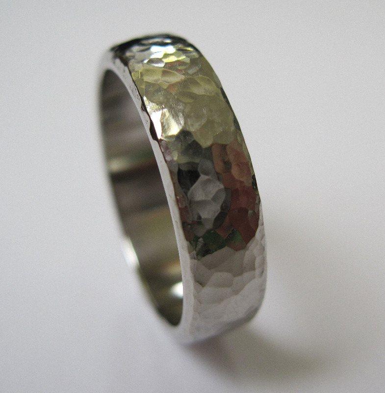 Hammered Wedding Rings Unusual Wedding Rings Edinburgh