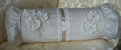 Calico & Lace Cushion Cover - Chloe