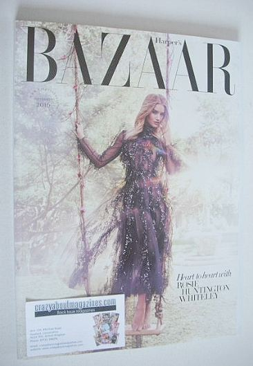Harper's Bazaar magazine - September 2016 - Rosie ...