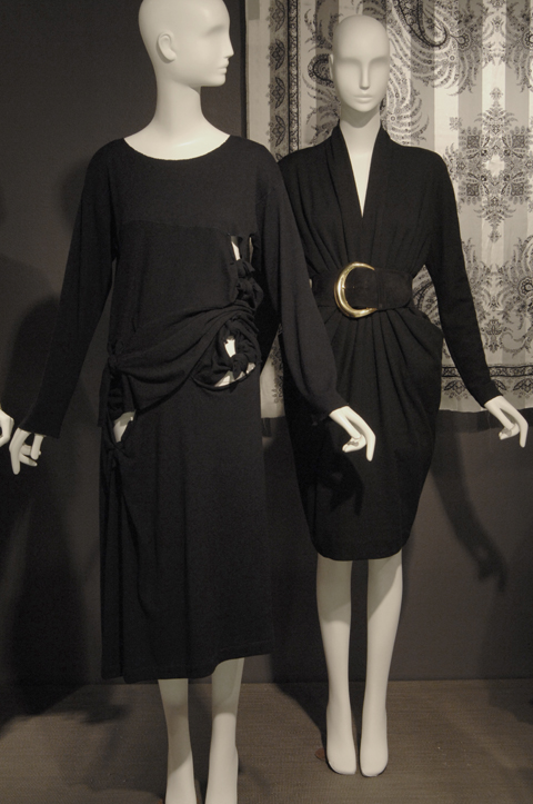 1980s dresses from Rei Kawakubo and Donna Karan - Arbiters of Style exhibit