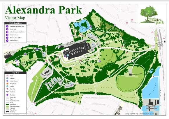 Map of the park - FoAP