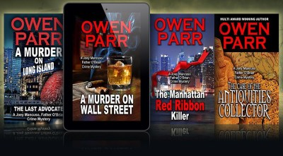 A Murder on Wallstreet series covers