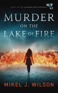 MURDER ON THE LAKE OF FIRE cover