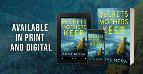 Secrets Mothers Keep tablet, paperback, phone