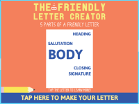 Friendly Letter Maker