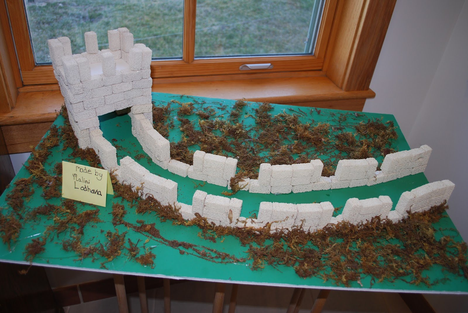 Examples of how to build models - 6th grade Great Wall of ...