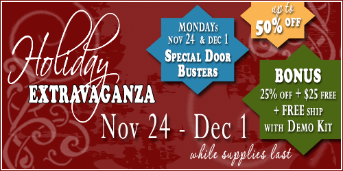 Stampin Up Online Extravaganza - Up to 50 Percent OFF
