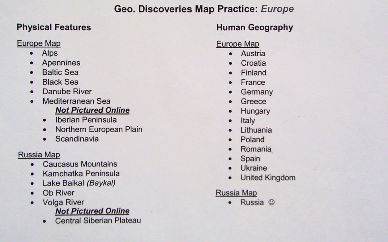 Q3 Map Challenge Europe And Russia With Challenge 5
