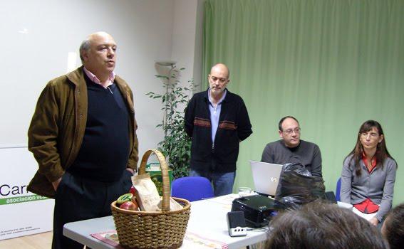 presentación por Alberto Navazo