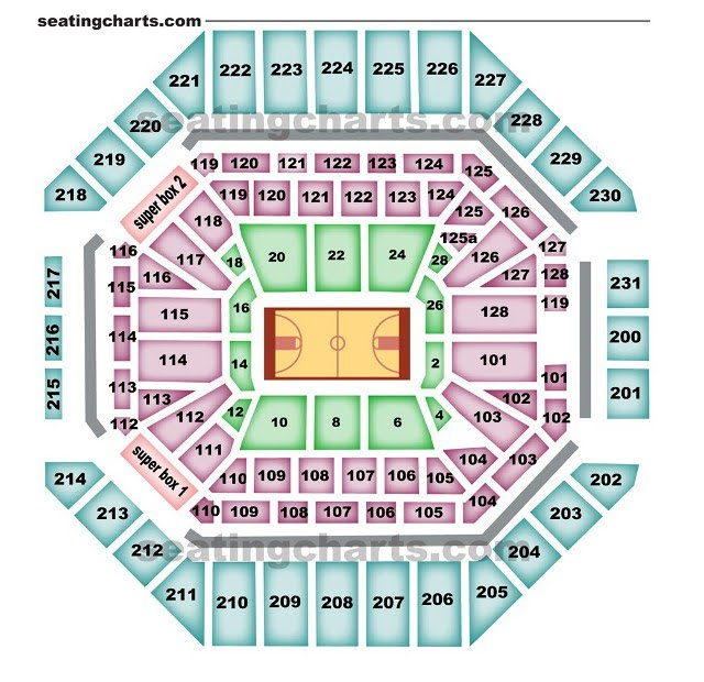at t center seating chart rampage. Black Bedroom Furniture Sets. Home Design Ideas