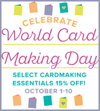 Celebrate World Card Making with Stampin Up