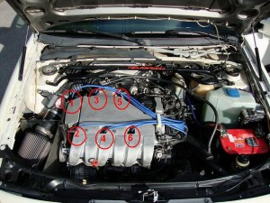 VR6 firing order and spark plug wires connecting order  izzo @ google