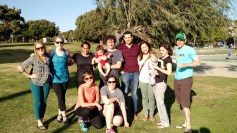 Labbies and babies at SPP in San Diego, 4-15