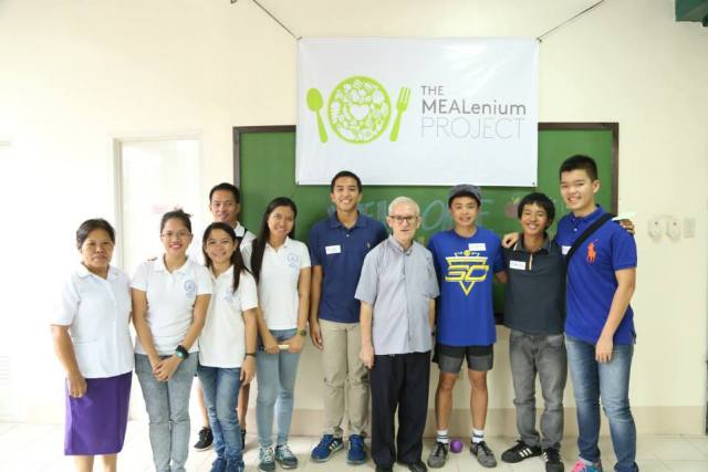 Payatas Orione Foundation team with The MEALenium Project core team