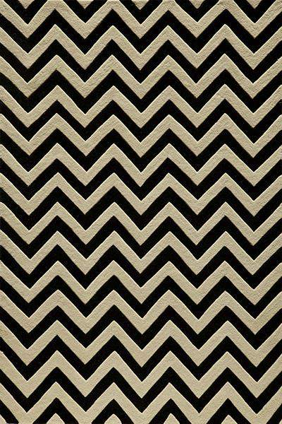 Dhel Chevron Black