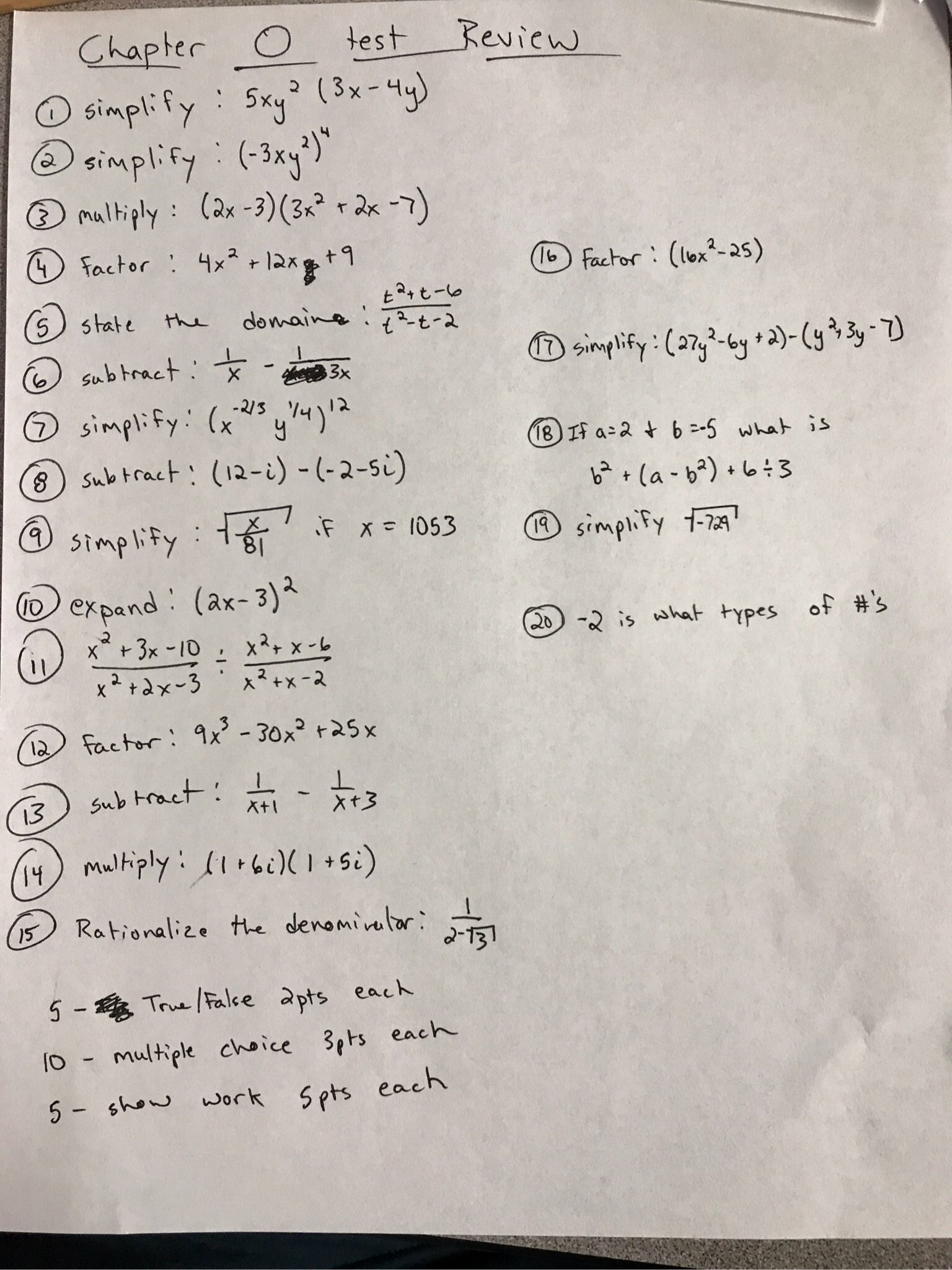 Chapter 6 Systems Of Equations And Inequalities Test