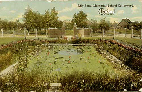 memorial-garden-Lily_Pond_Memorial_School_Collinwood-1914