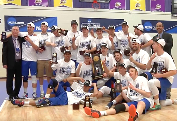 Men's volleyball wins NCAA Championship – SUNY New Paltz News