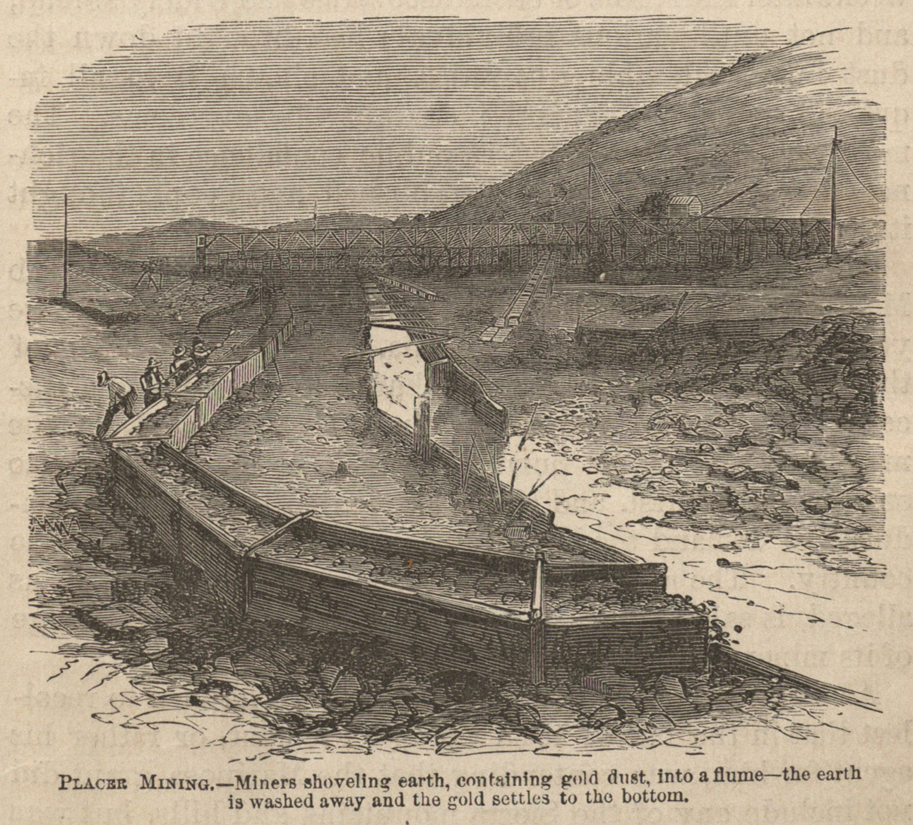 American Frontiers The California Gold Rush