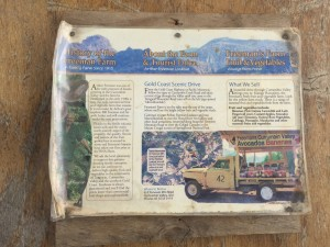 History of Freeman's Organic Fruit Farm
