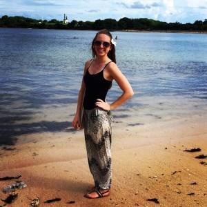 Enjoying the beach life!