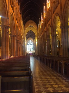 Inside of St. Mary's Cathedral