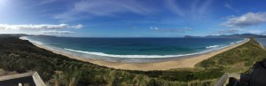 Panoramic view of Bruny Island